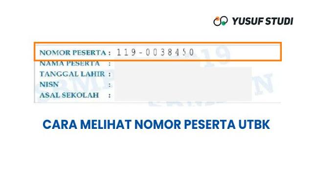 Lupa nomor peserta UTBK 2021
