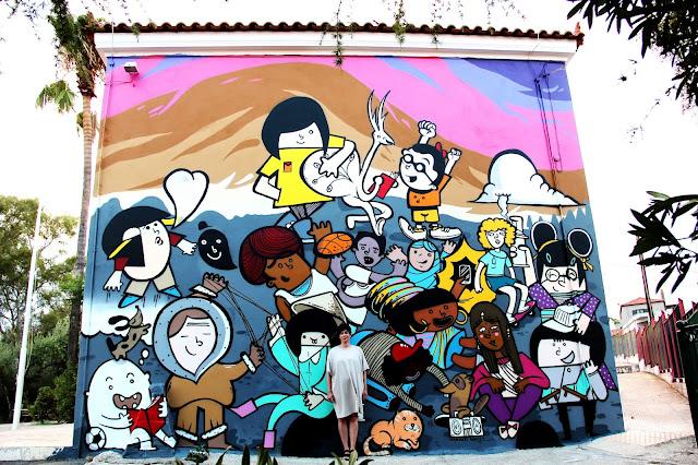 Ναύπλιο: Εξαιρετική τοιχογραφία Graffiti για τη Διαπολιτισμικότητα, στον Άγιο Αδριανό