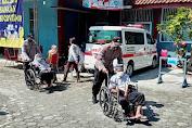 Humanis, Polisi Purbalingga Bantu Lansia Ikuti Vaksinasi