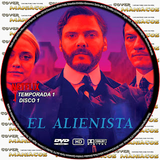 GALLETA 1 [SERIE DE TV] The Alienist - EL ALIENISTA 2018 [COVER DVD]