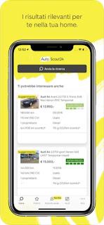 AutoScout24 offerte auto usate si aggiorna alla vers 12.2.8