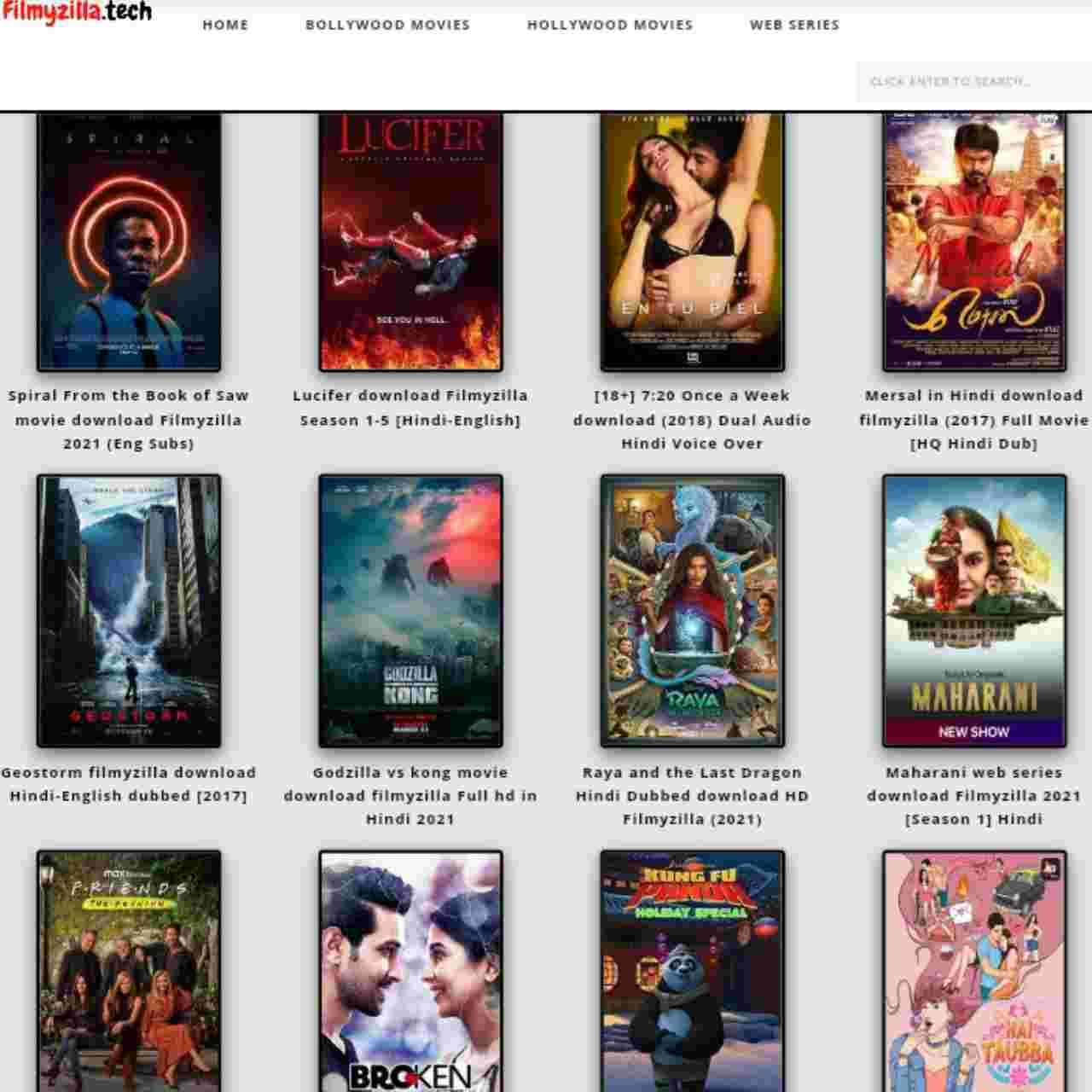 Filmyzilla 2021: Download Bollywood Hollywood Hindi Dubbed Movies Filmywap 2021