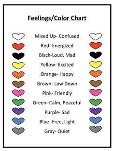 color feelings chart for kids