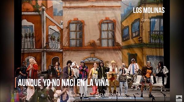"""🟡Pasodoble de los MOLINAS con Letra """"Aunque yo no nací en la Viña"""". Chirigota """"Enemigos Íntimos"""""""