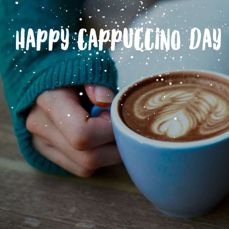 National Cappuccino Day Wishes Photos