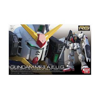 Bandai 76319 0466478 Gunpla Gundam RG 08 MK-II AEUG RX-178 Model Kit