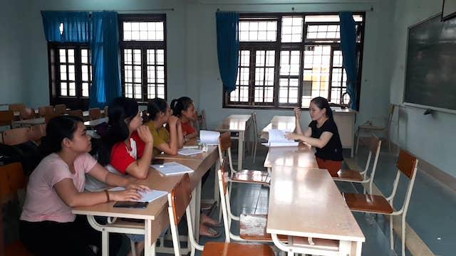 Quảng Trị: Một khoa chỉ có 4 sinh viên tại Trường Cao đẳng Sư phạm tỉnh Quảng Trị