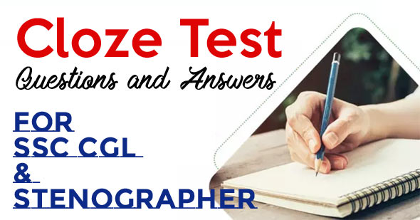 Cloze Test Questions and Answers