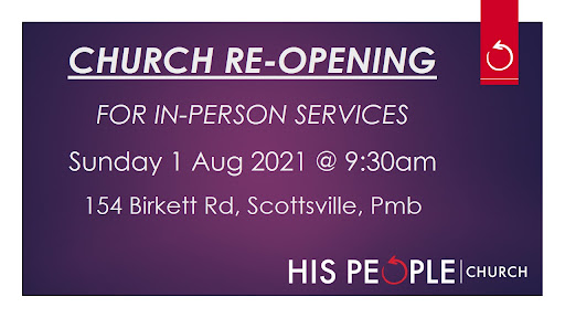 IN-PERSON CHURCH SERVICES RE-OPENING
