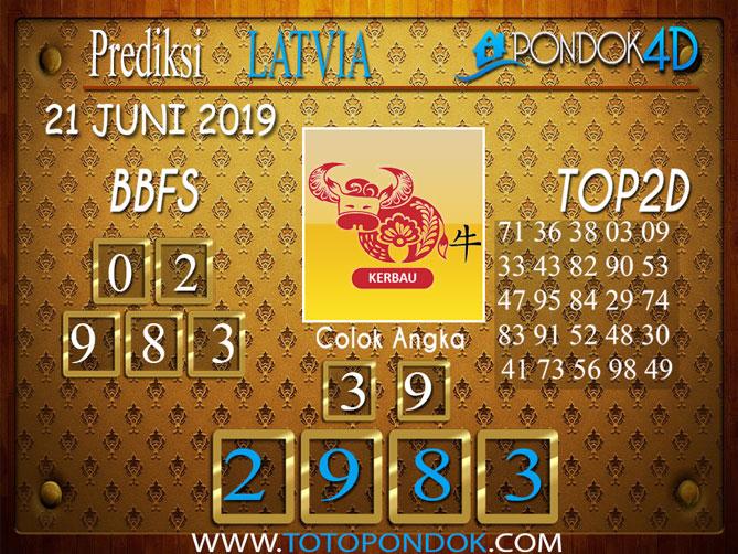 Prediksi Togel LATVIA PONDOK4D 21 JUNI 2019