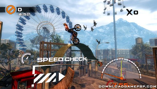 Urban Trial Freestyle - Download Game PSP PPSSPP PSVITA Free