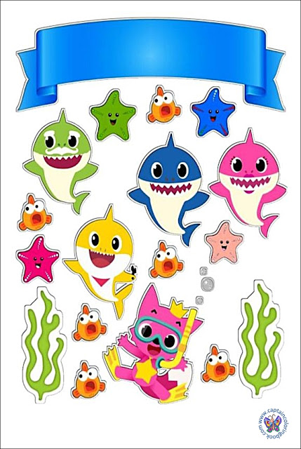 Baby shark characters png download