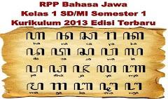 RPP Bahasa Jawa Kelas 1 SD/MI Semester 1 Kurikulum 2013 Edisi Terbaru