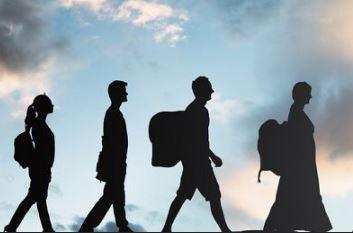 الأنواع المختلفة للهجرة البشرية