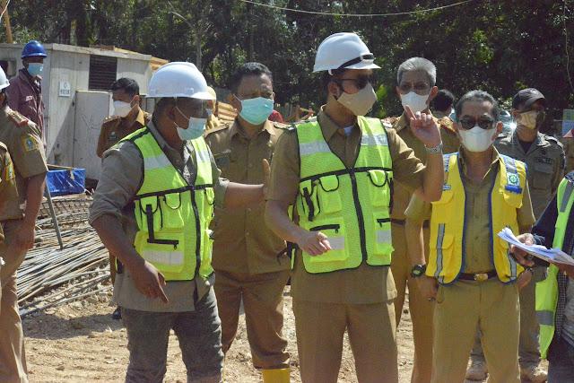 Bupati ASA Tinjau Proyek Pembangunan Rp43 Miliar di Sinjai Selatan