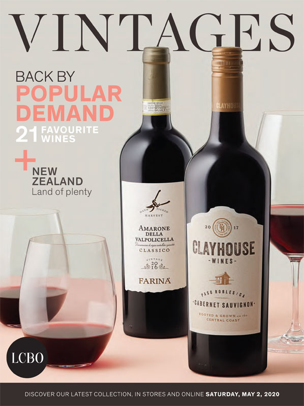 LCBO Wine Picks: May 2, 2020 VINTAGES Release
