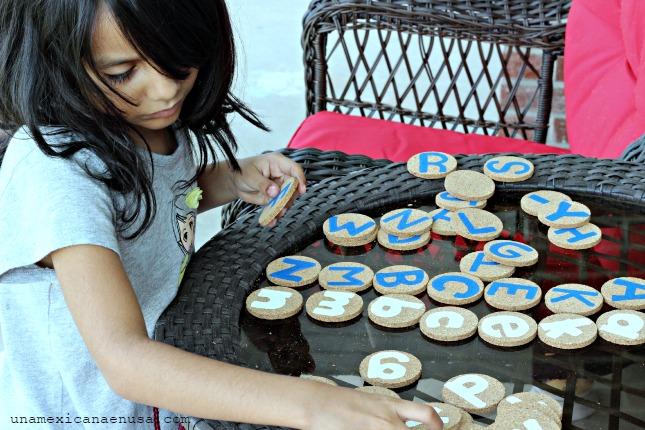Memorama del Abecedario para prepararse para Kinder by www.unamexicanaenusa.com