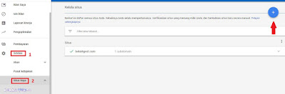 Cara Menambahkan Blog Baru Dan Menempatkan Iklan Pada Akun Google Adsense Terbaru