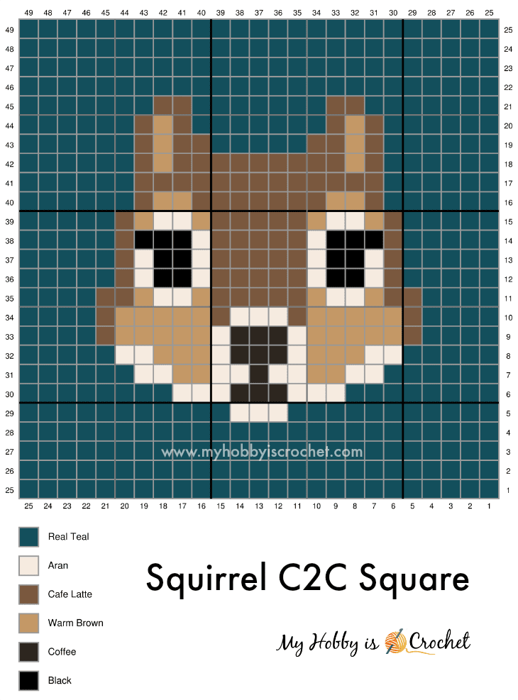 Squirrel C2C Graph