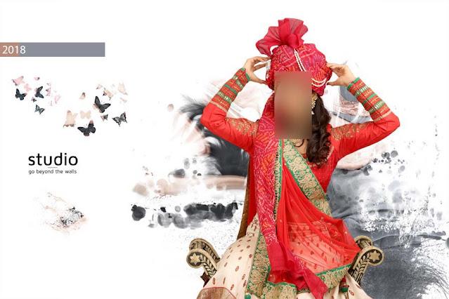 Indian Wedding Album 12x18 Cover Designs Vol-02
