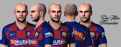 PES 2020 Faces Pep Guardiola by One