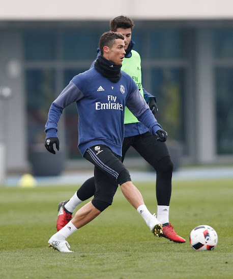 Cristiano Ronaldo laced up in the SG-Pro version of the Nike Mercurial  Superfly CR7 Vitórias football boot 5ff65eec7b150