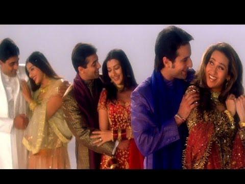 Hum saath saath Hain - Title Song - Salman Khan, Saif Ali Khan, Karishma, Sonali, Tabu, Mohnish Behl - Alka Yagnik, Anuradha Paudwal, Hariharan, Kavita Krishnamurthy, Kumar Sanu, Udit Narayan Lyrics in hindi