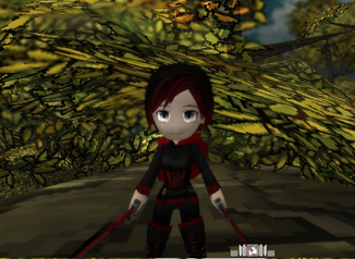 Ruby Rose Skin Attack On Titan Tribute Game