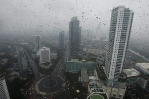 Sebentar Malam Sejumlah Wilayah Jakarta Diprediksi Diguyur Hujan