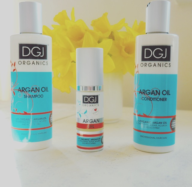 DGJ Organic Argan Oil Hair Review