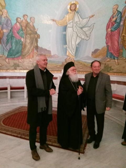 Oι ευχές του Αρχιεπισκόπου Αλβανίας Αναστάσιου στους Λαρισαίους συνδημότες του