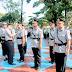 Kapolres Pimpin Sertijab Para Perwira Kepolisian Di Lingkungan Polres Subang