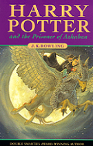 Harry Potter and the Prisoner of Azkaban by J. K. Rowling book cover