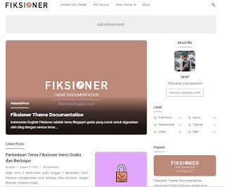 Rekomendasi Template Blogger Gratis Kualitas Premium