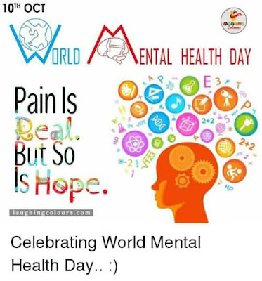 Celebrate World mental Health Day on 10 Oct 2017