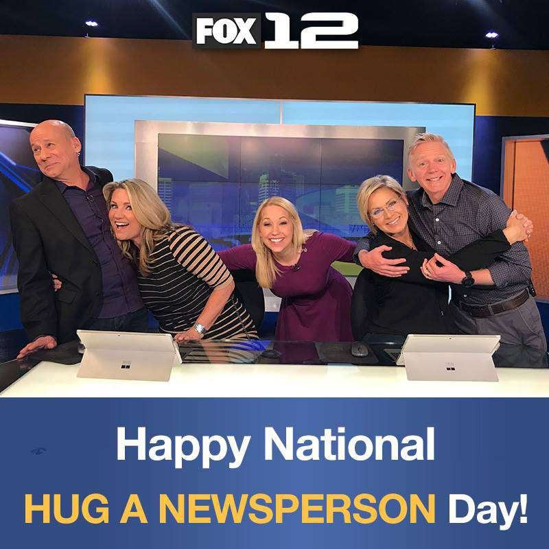 National Hug a Newsperson Day Wishes Images