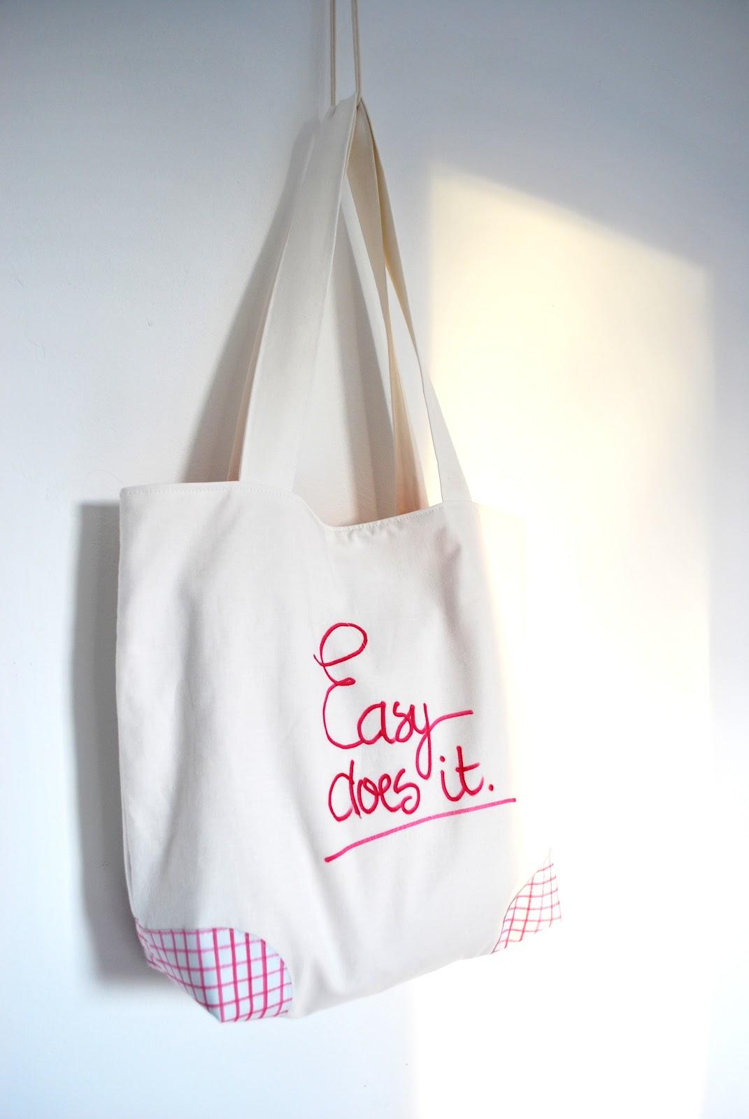 Simpele tas, stap voor stap.