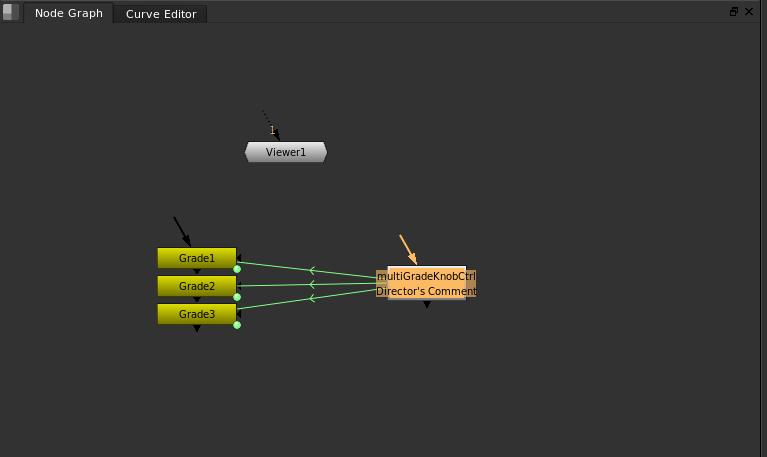 Controller node's Relationship to Grade nodes Node Graph