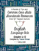 FREE Grades 6-12 English/Language Arts Common Core State Standards Resources eBook by TpT Teacher-Authors