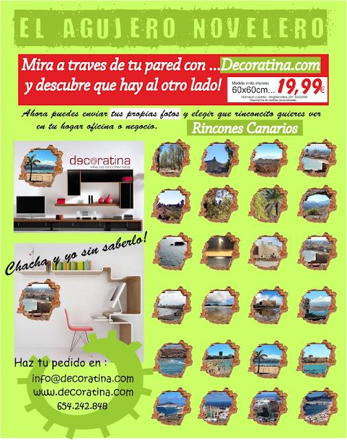 Vinilo 3d Decoratina, Vinilo Agujero en tu Pared, Las Palmas