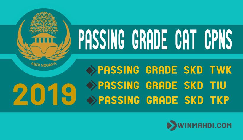 Passing Grade SKD CPNS 2019