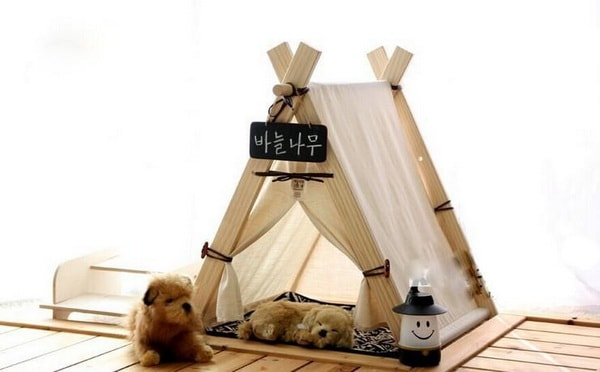 Cute Beds For Pets Combine With Interior Decoration Ideas 4