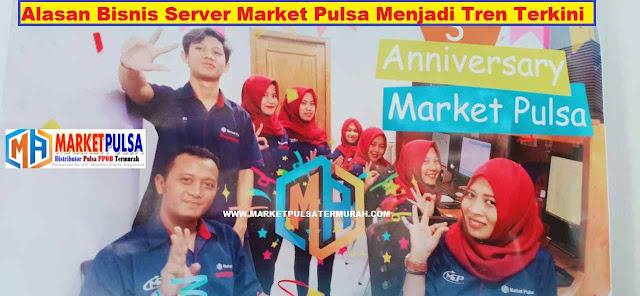 Alasan Bisnis Server Market Pulsa Menjadi Tren Terkini