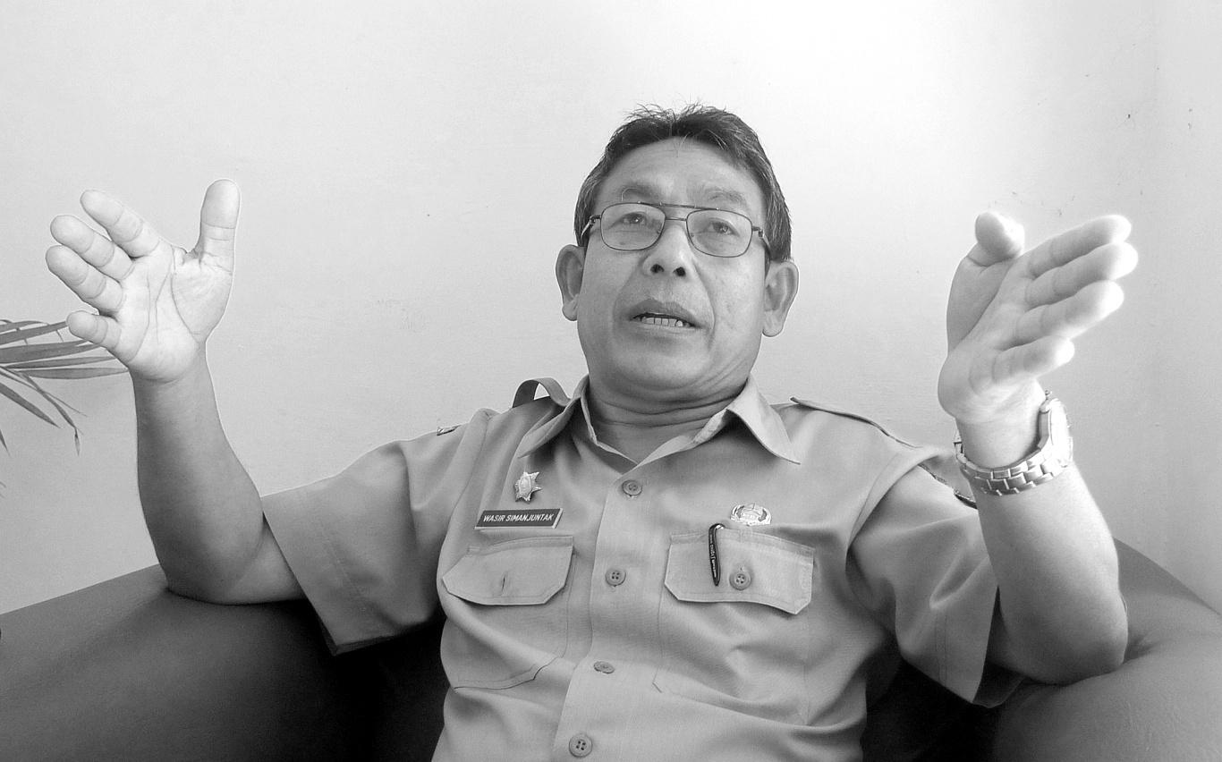 foto pejabat Toba Samosir di Balige