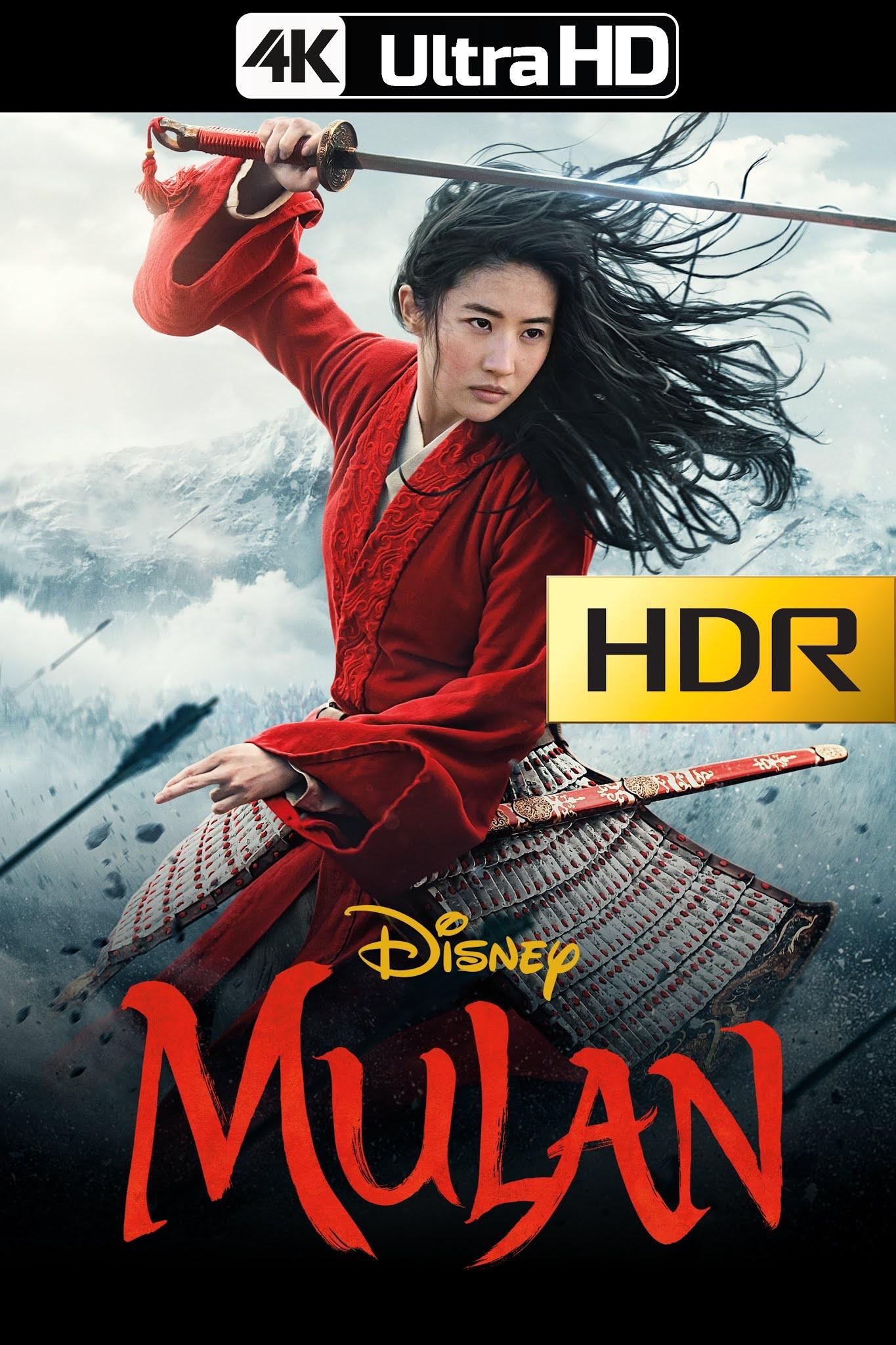 Mulan (2020) 4K UHD HDR WEB-Rip Latino