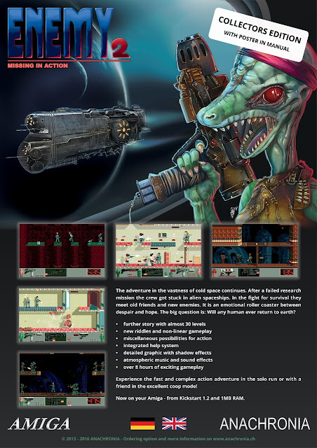 Indie Retro News: ENEMY 2 Collectors Edition - The sequel to
