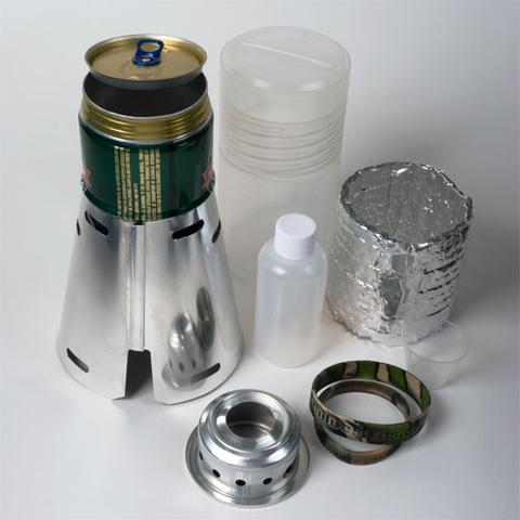 Caldera Cone Alcohol Stove System for Heineken Pot