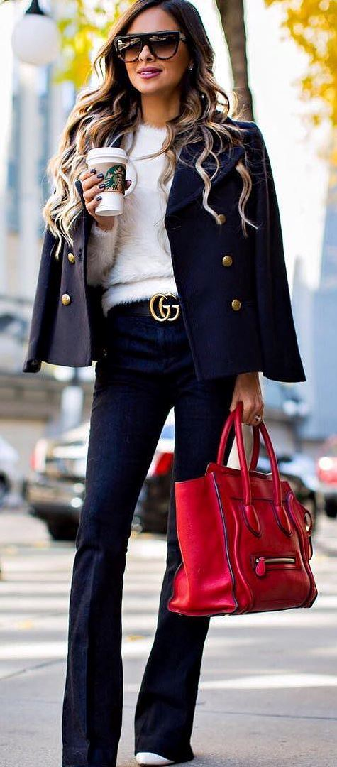 perfect office style outfit