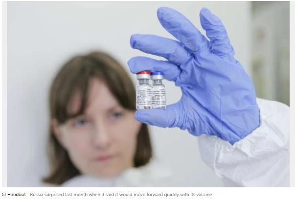 Russian vaccine 'passes preliminary test'