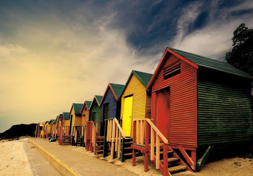 Деревня Калк-бей, город Саймонс-Таун и Южный полуостров Кейптауна